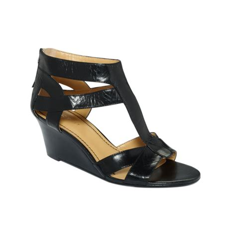 nine west sandal wedges nine west black low wedge sandals low wedge sandals