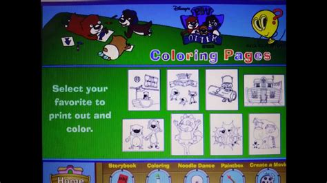 Pb J Coloring Pages by Pb J Otter Coloring Pages Galore