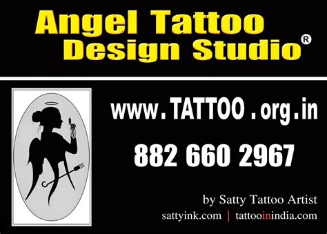 angel tattoo design studio gurgaon haryana angel tattoo design studio permanent tattoo cost price