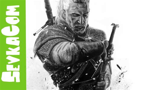 Witcher 3 Sketches by Speed Drawing The Witcher 3 Hunt