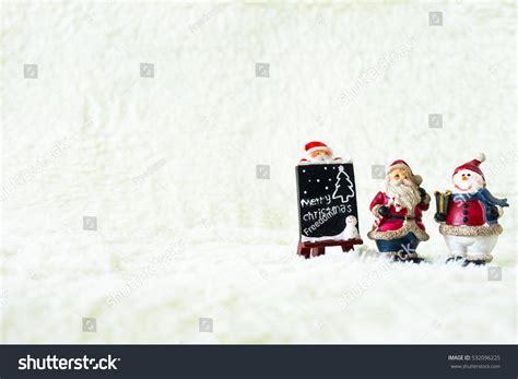 santa ckaus with snow decoration decoration santa claus snowman stock photo 532096225