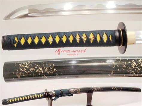 Handmade Japanese Samurai Swords - handmade japanese samurai katana sword tang blade