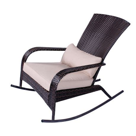 outdoor wicker rocking chair canada patio flare wicker muskoka rocking chair walmart canada