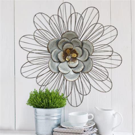 daisy home decor galvanized daisy wall d 233 cor stratton home decor