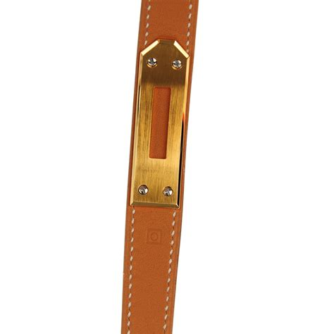 hermes cadena watch hermes natural barenia kelly cadena watch pm 154244