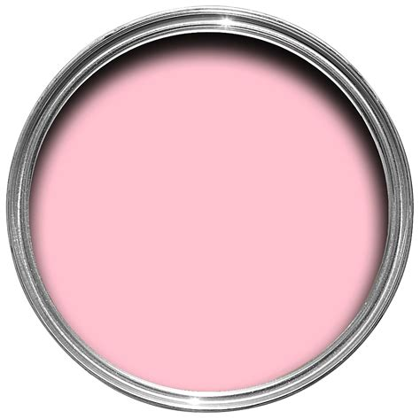 pink paint colours pink pink matt emulsion paint 2 5l departments
