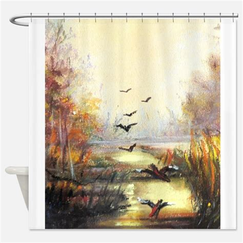 mallard duck shower curtain ducks shower curtains ducks fabric shower curtain liner