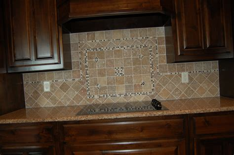 tumbled marble kitchen backsplash tumbled tile backsplash tile design ideas