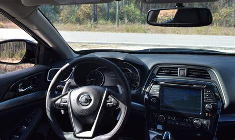 2017 Nissan Maxima Sr Midnight Edition Interior 4