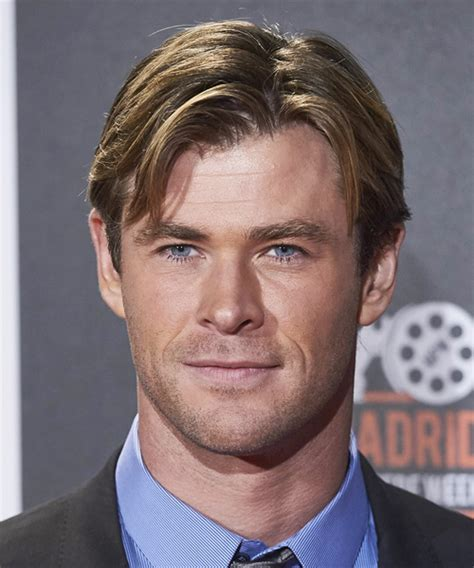 chris hemsworth hairstyles chris hemsworth short straight casual hairstyle