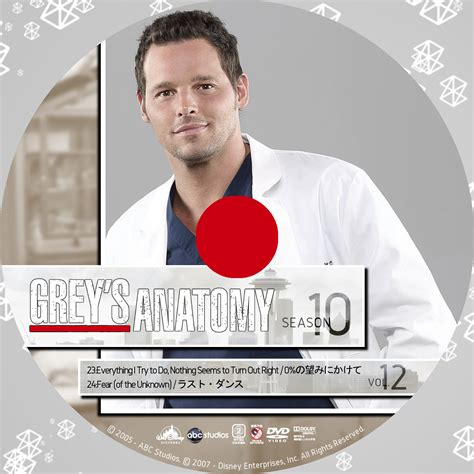 Grey Disc 10 grey s anatomy グレイズ アナトミー 恋の解剖学 シーズン10 後半 grey s
