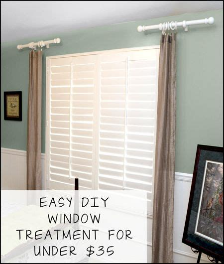 do it yourself window curtain ideas home intuitive i love finds like this easy diy window treatment for