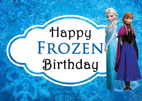 wallpaper frozen happy birthday 5 best images of printable frozen happy birthday card