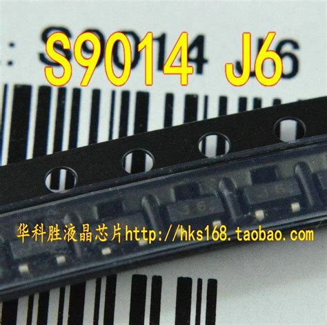 transistor j6 s9014 j6 smd low power transistor sot 23 hksyj in integrated circuits from electronic components