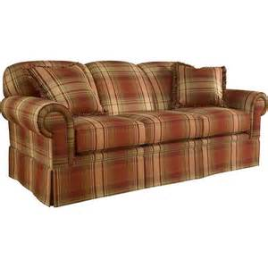 Broyhill Leather Sofa The Tremont Elegant Red Plaid Sofa Set 11880