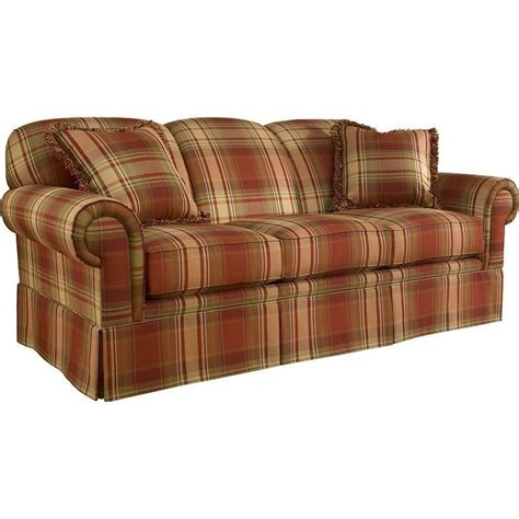 tartan sofa the tremont elegant red plaid sofa set 11880