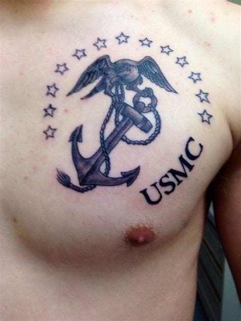 75 cool usmc tattoos meaning policy and designs