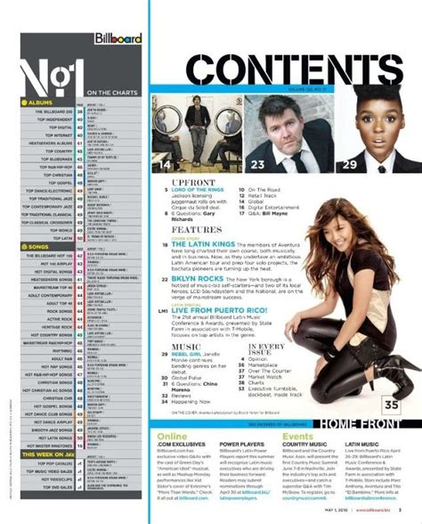 online magazine layout exles good layout too much information table of contents