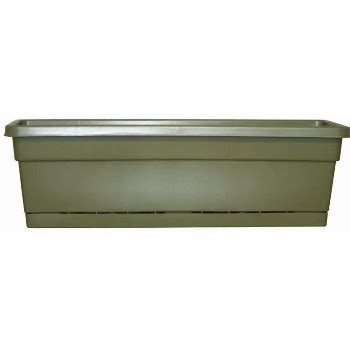 24 Inch Planter Box by Buy The So Patio Wb2412og Rolled Window Box Planter