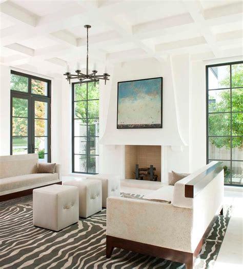 caruth contemporary living room dallas  tatum