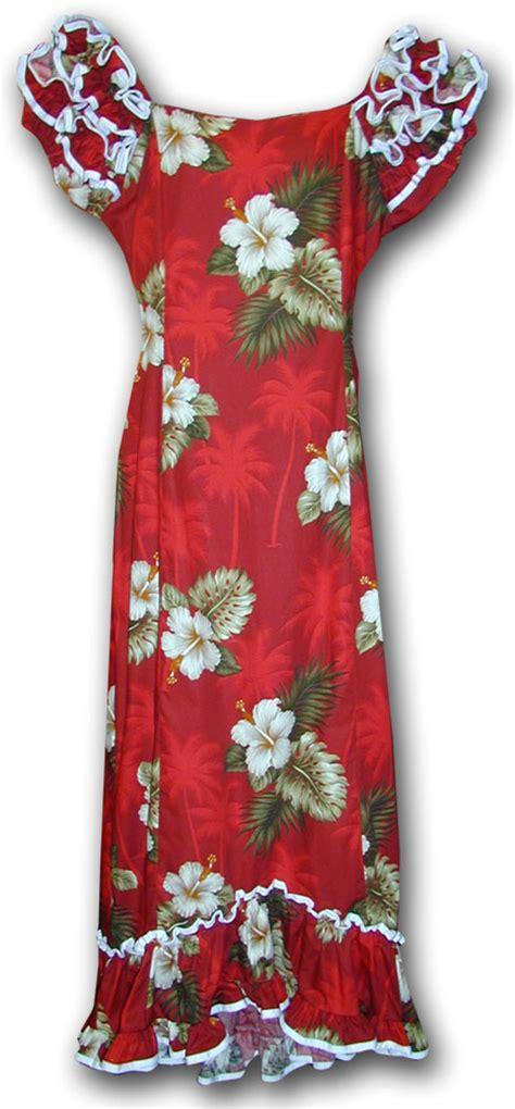 Sale Dress 2798 Brokat Fit Xl muumuu hibiscus island hawaiian dress