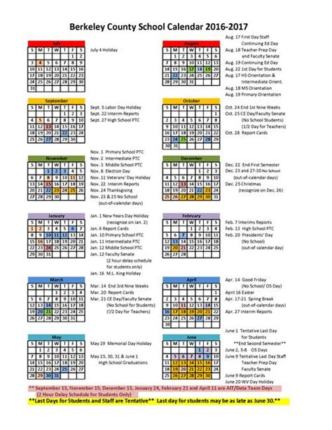 Fcps Calendar Related Keywords Suggestions For District Calendar 2016
