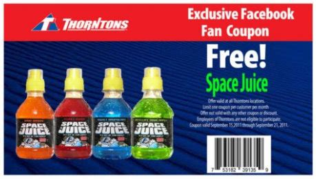 Promo Madkong Juice Berkualitas Thorntons Free Space Juice And Worx Energy