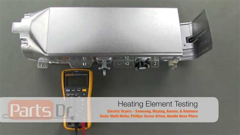 samsung dryer heating element dc97 14486a how to test