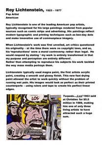 Andy Warhol Essay by Andy Warhol And Roy Lichtenstein Essay Drugerreport732 Web Fc2
