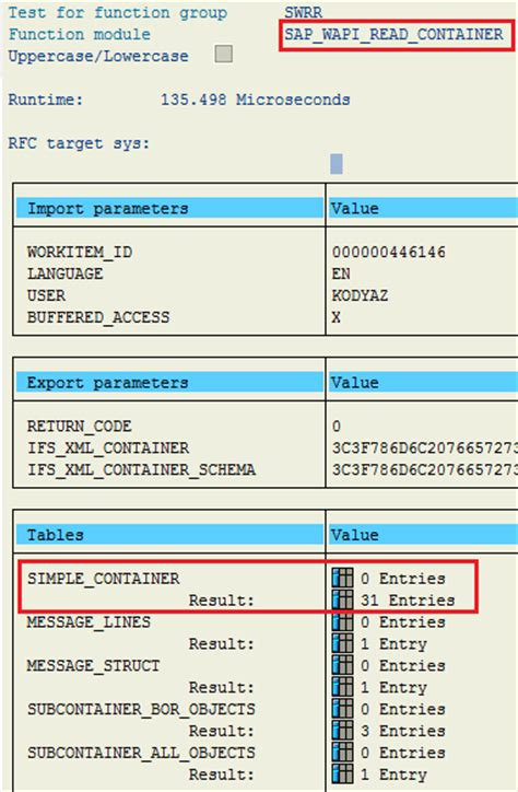 workflow in abap how to read sap workflow container contents using abap