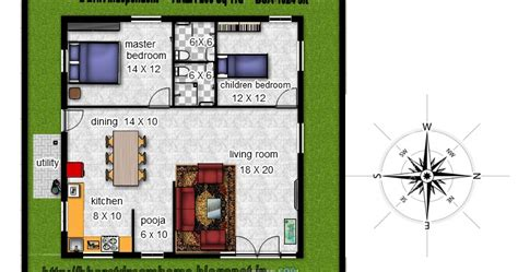 1000 Square House Plans East Facing Bharat Dream Home 2 Bedroom Floorplan 1024 Sq Ft East Facing