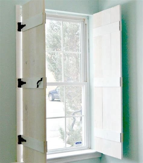 window shutters interior diy diy farmhouse style indoor shutters hometalk