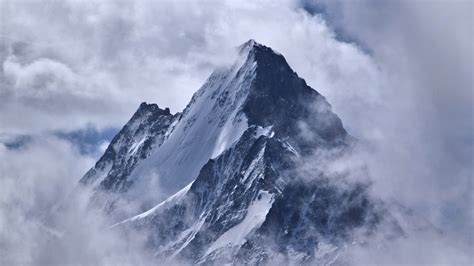 Cloud Wants Snow clouds top mountains snow landscape nature pictures