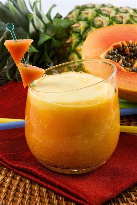 Papaya Detox Drink by Papaya Sweet And Sour Detox Smoothie Magazine By