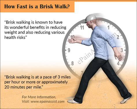 how fast is a how fast is a brisk walk what are its benefits