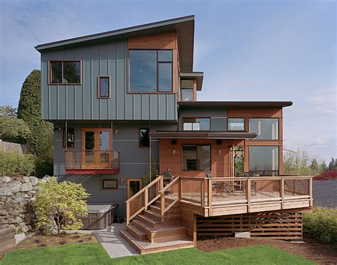 split level homes modern remodel of the post war split level house into a