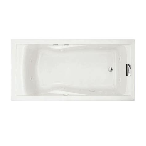 American Bathtub by American Standard Evolution Everclean 6 Ft Whirlpool Tub