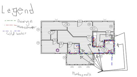 plumbing floor plan 1 bloggin day in day out plumbing plan