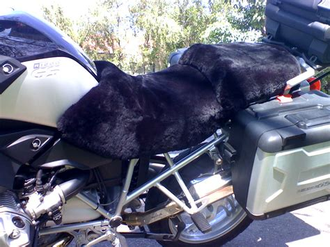 sheepskin motorcycle seat covers adelaide bmw r1200gs adventure 2006 sheepskin wool store