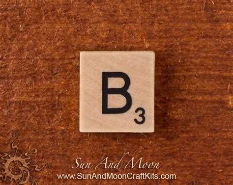 scrabble b wood scrabble tile wooden tiles letter b