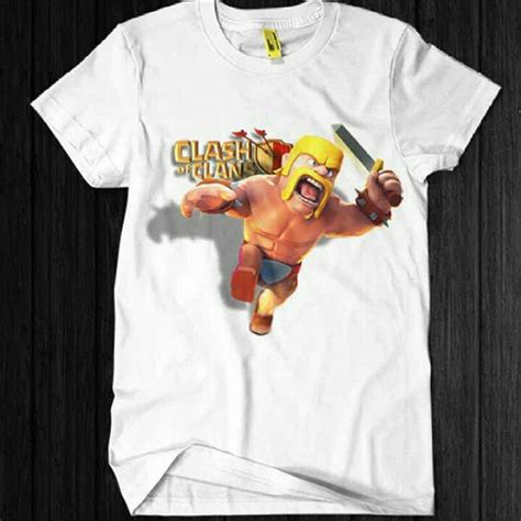 Pakaian T Shirt Kaos 3d Clash Of Clans Coc Barbarian 37 best clash of clans t shirt images on t shirts for shirt and shorts