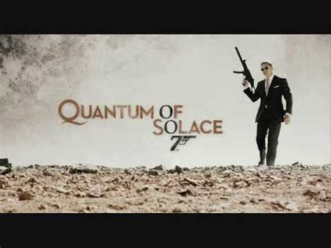 Theme Song Quantum Of Solace | quantum of solace theme song extended james bond video