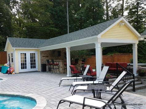 custom pool houses  homestead structures