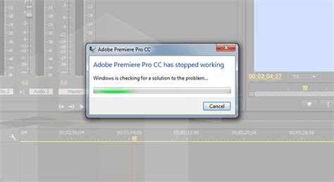 adobe premiere pro startup error fix adobe premiere pro has stopped working error theitbros