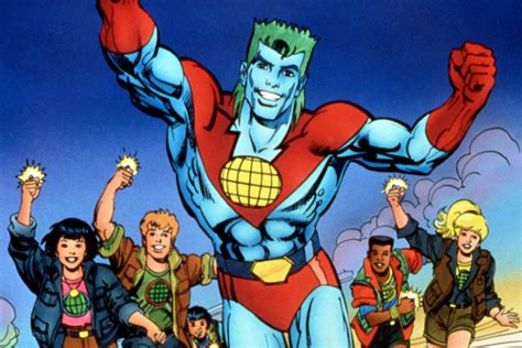 Captain Planter by Captain Planet Heading To Big Screen Maybe With