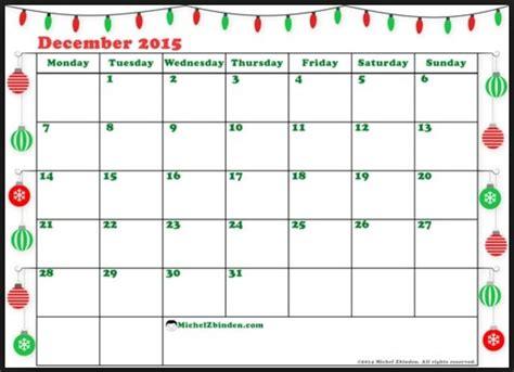 Bi Weekly Calendar Template 2015