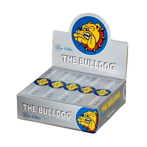Filter Box Jumbo 46 75cm the bulldog wide filter tips silver king size perforated 9 99
