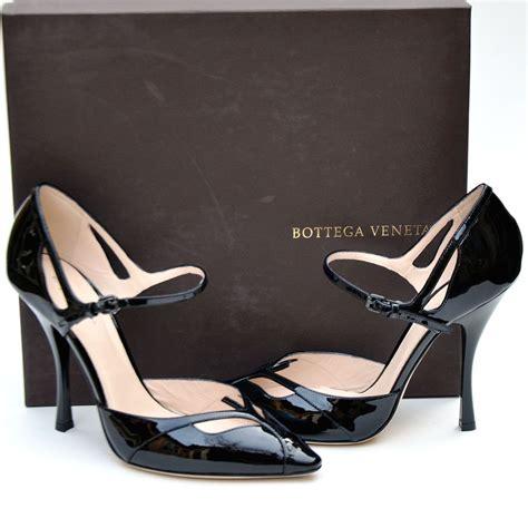 bottega veneta womens designer black heels shoes