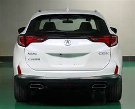 2016 acura cdx leaks ahead of beijing auto show