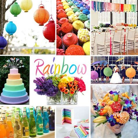 colour themed party decorations 72 best images about wedding colours on pinterest